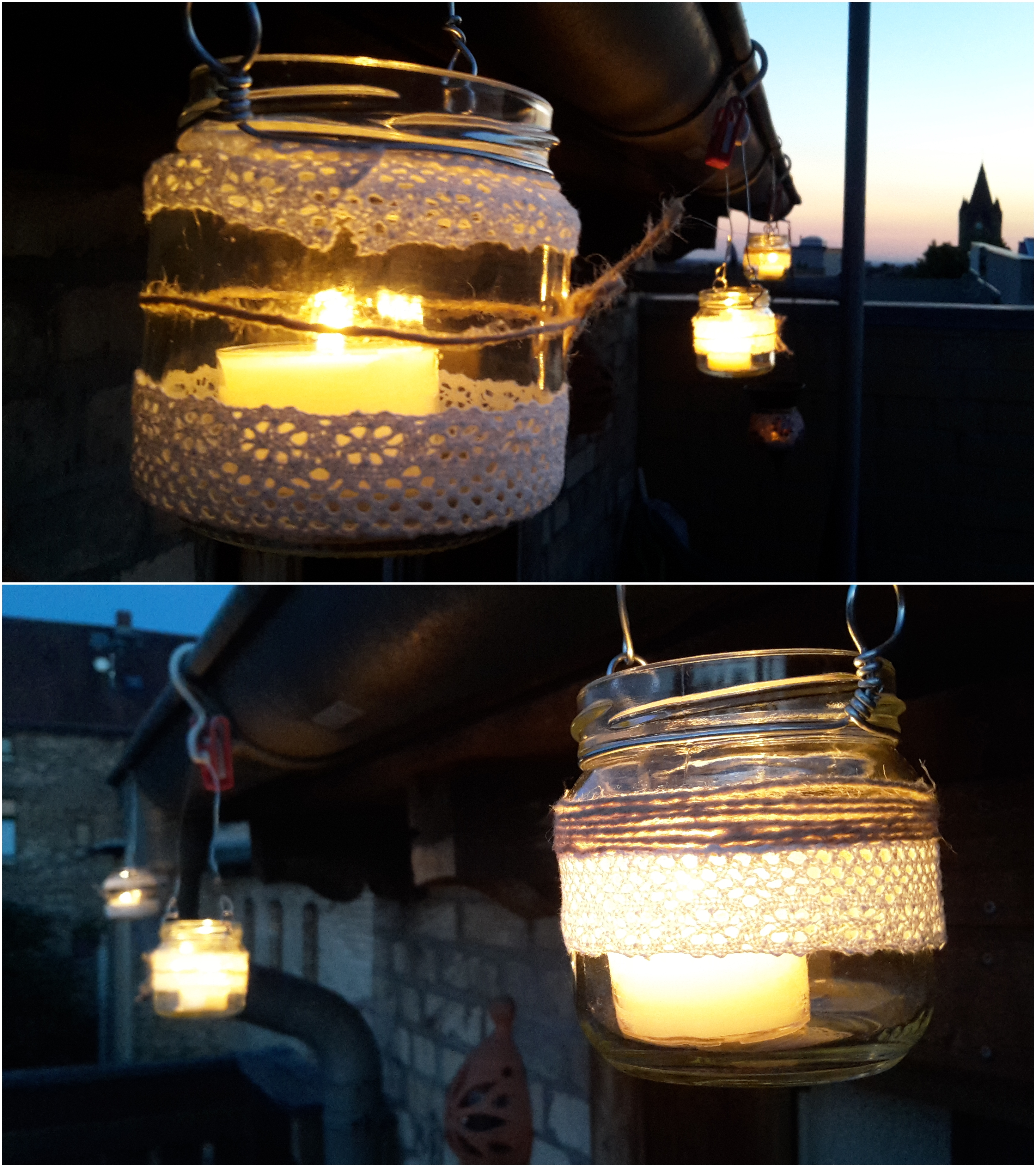 HOW TO HANG UP JARS