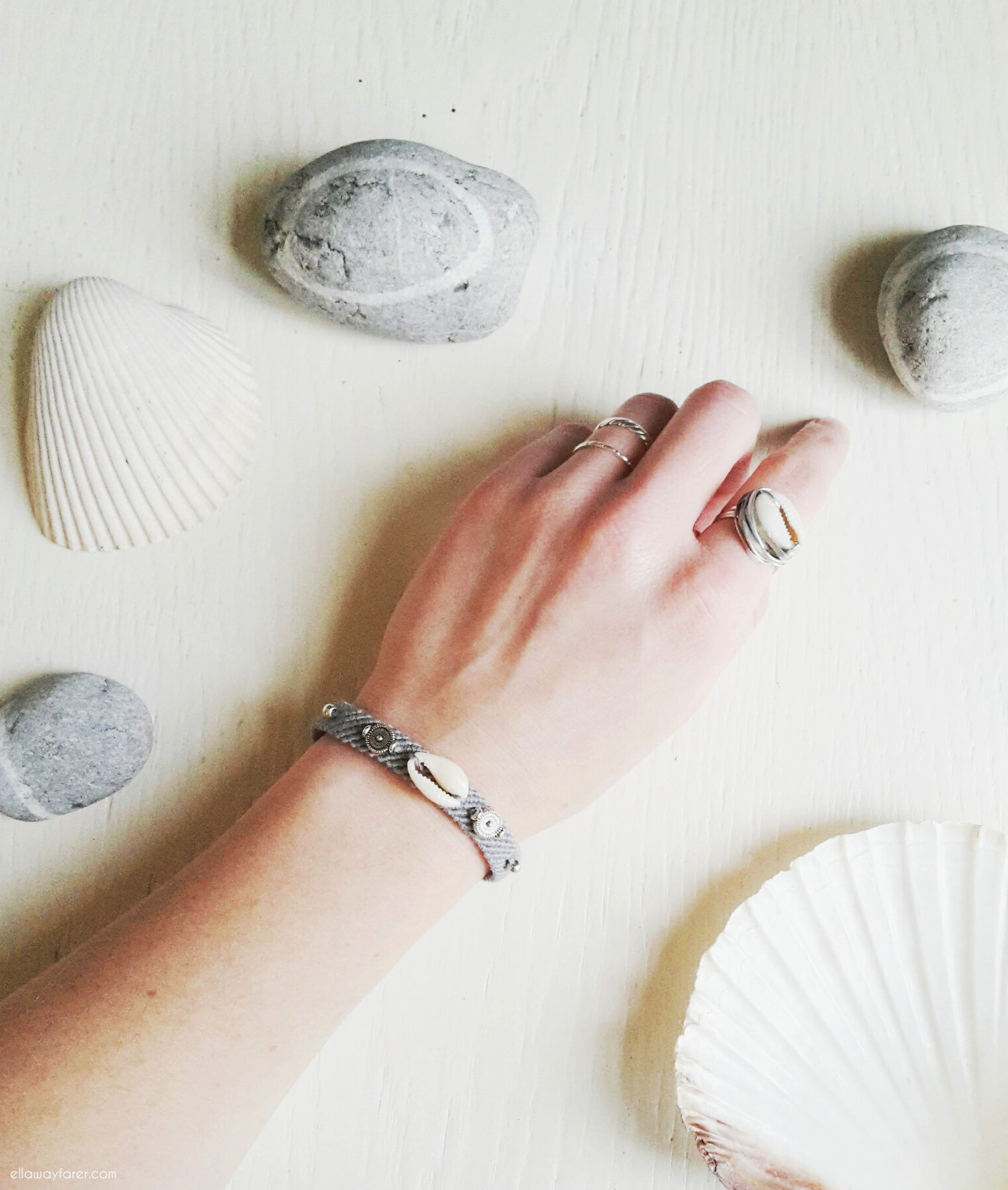 Shell Friendship Bracelet | DIY