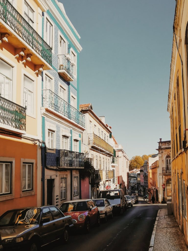 One day in Lisbon - colourful tiled houses