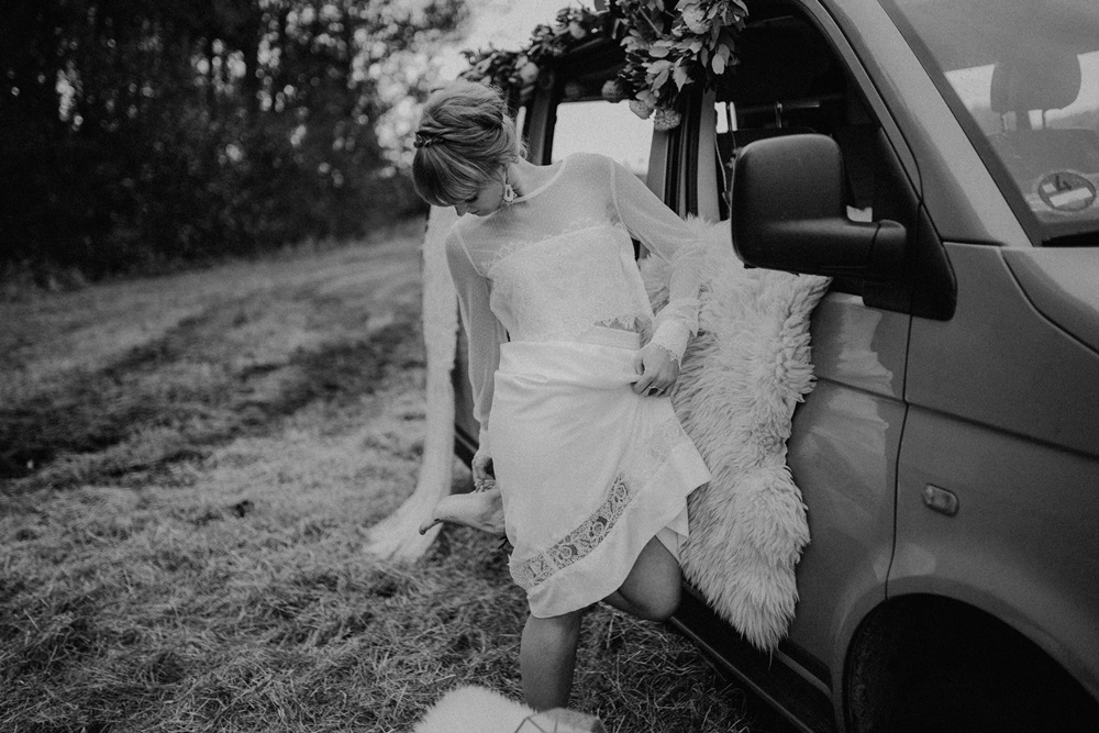 Boho Wedding in a Van