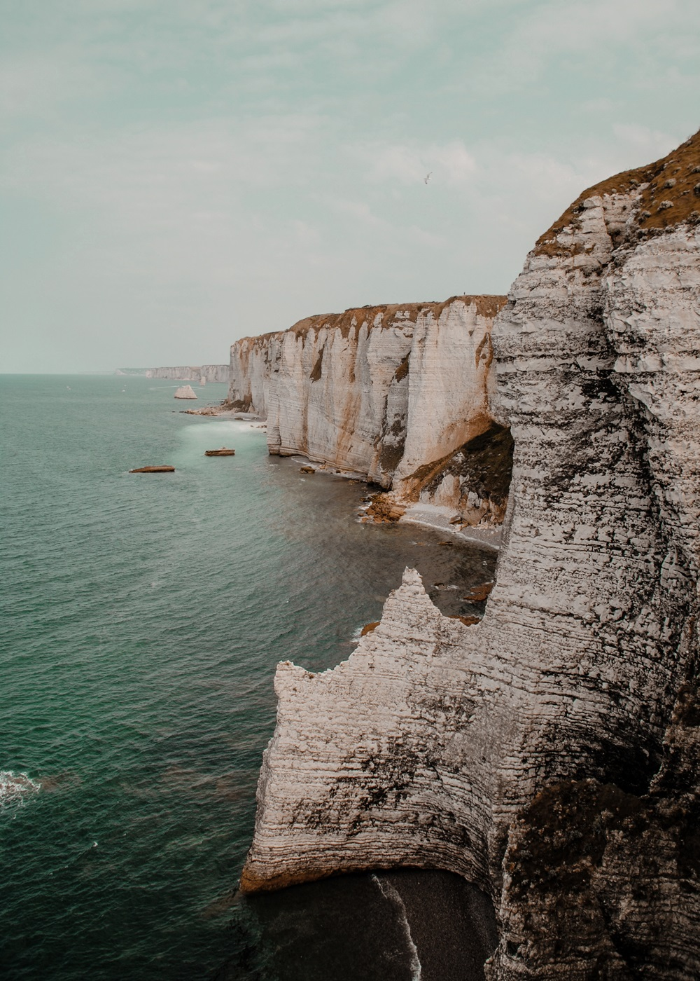 Vanlife in Northern France: Etretat